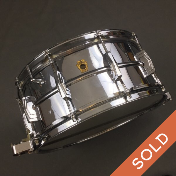 Early 60S Pre-serial Ludwig 14 X 6.5  COB  SS  Snare