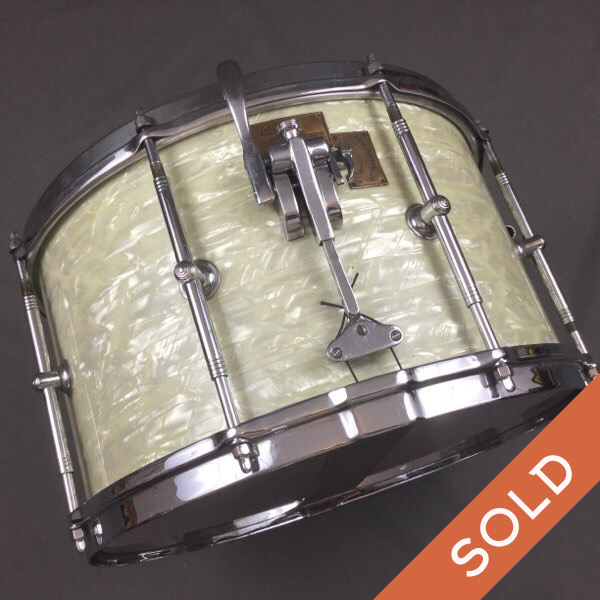 Late 30S Early 40S Gretsch Gladstone 15 X 8.5  WMP Snare