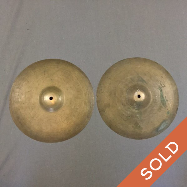 Very Early 13″ Zildjian paper thin hats