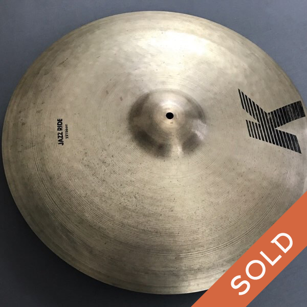 22″ Zildjian  EAK  Jazz Ride