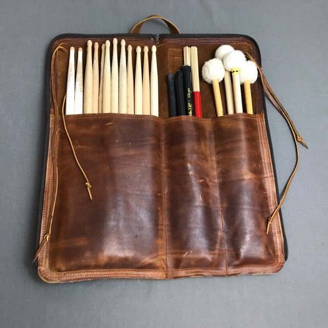 *New product for 2017*     Leather stick bag