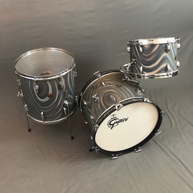 Orange tag vintage drums prestigious rare and sought for Classic house drums