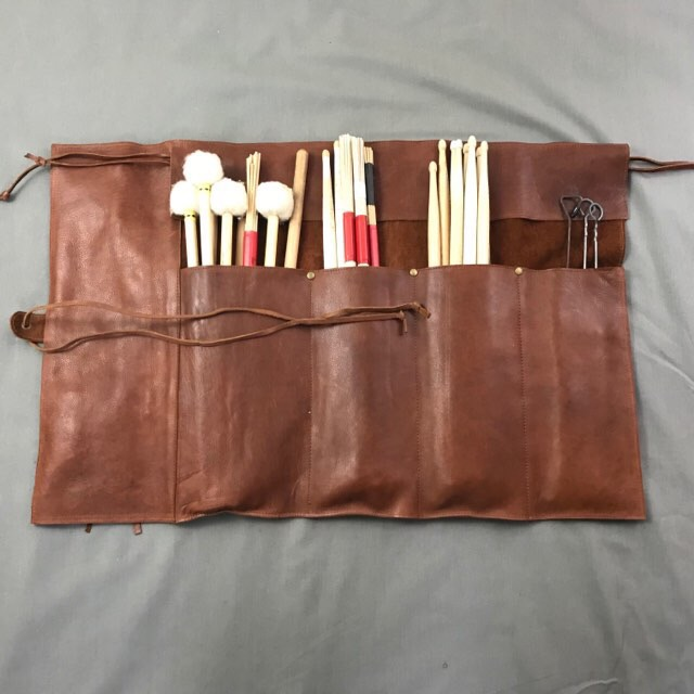 Hand made leather Stick roll  **New Product for 2018**