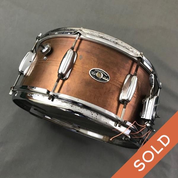 Copper Plated Slingerland Brass snare