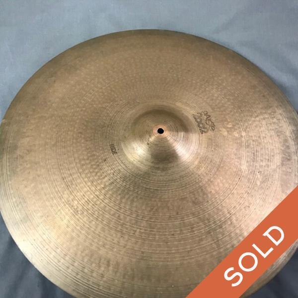 Paiste 2002  24″ Ride Cymbal