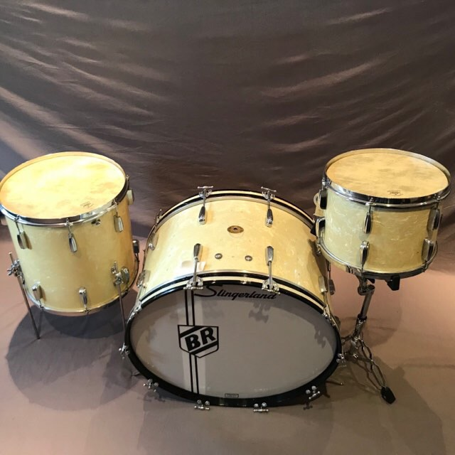 Early 50s Slingerland Radio King set